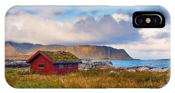 Ramberg Hut IPhone Case