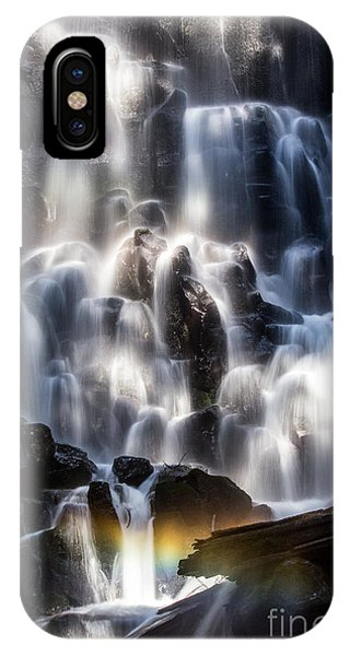 Ramona Falls With Rainbow IPhone Case