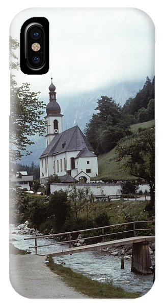 IPhone Case featuring the photograph Ramsau Church by Donald Paczynski