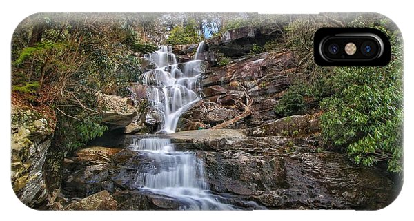 Ramsey Cascades - Tennessee Waterfall IPhone Case