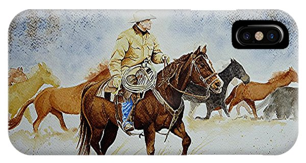 Ranch Rider IPhone Case