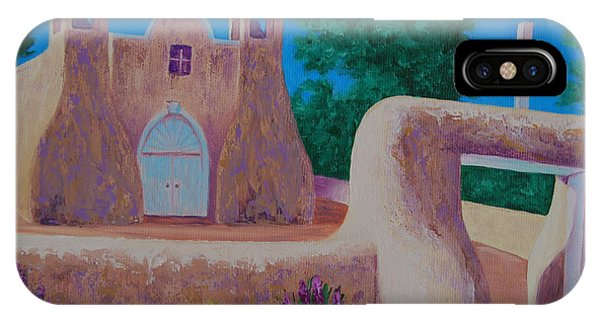 Rancho De Taos II IPhone Case