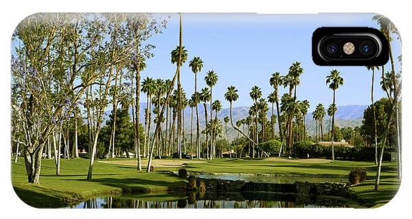 Rancho Mirage Golf Course IPhone Case