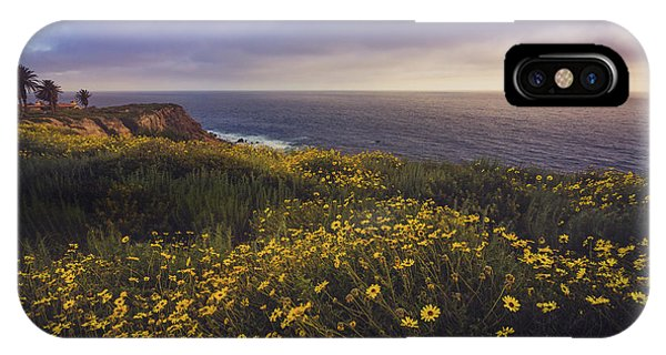Rancho Palos Verdes Super Bloom IPhone Case