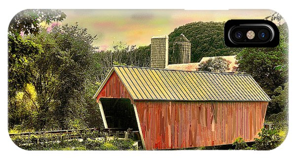 Randolf Covered Bridge IPhone Case