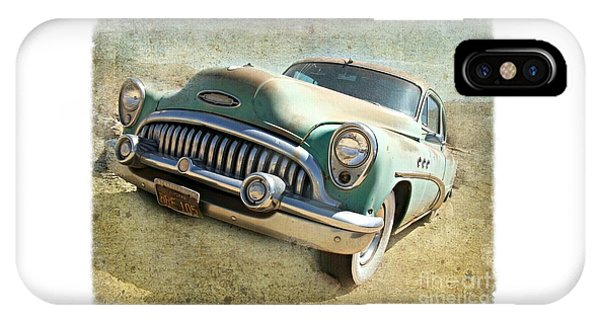 Randsburg Buick IPhone Case