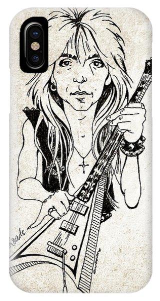 Guitar Legends iPhone Case - Randy Rhoads by Gary Bodnar