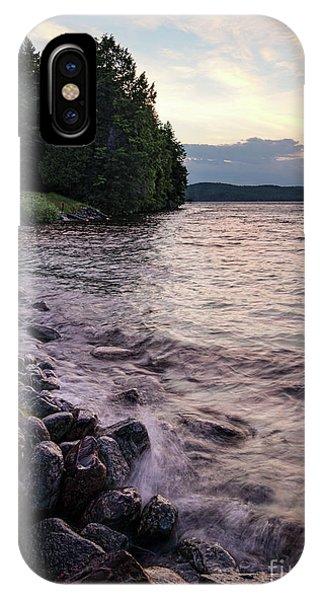 Rangeley Lake State Park In Rangeley Maine  -53215-53218 IPhone Case