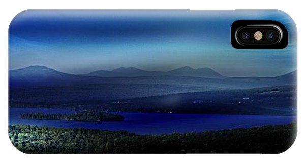 Rangeley Magic Sunset IPhone Case
