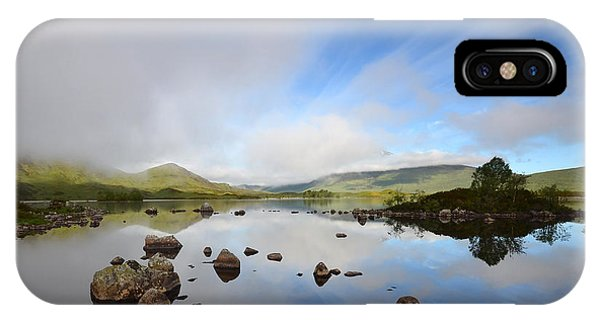 Moor iPhone Case - Rannoch Moor by Smart Aviation