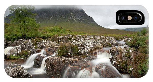 IPhone Case featuring the photograph Rannoch Moor Landscape Glencoe Landscape by Michalakis Ppalis