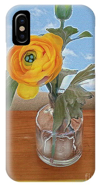 Ranunculus Spring IPhone Case