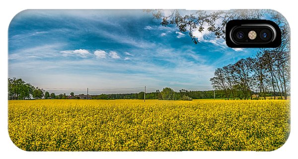Rapeseed Field IPhone Case