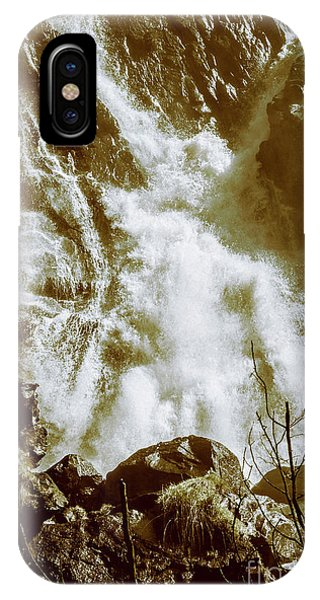 Stone Wall iPhone Case - Rapid River by Jorgo Photography - Wall Art Gallery