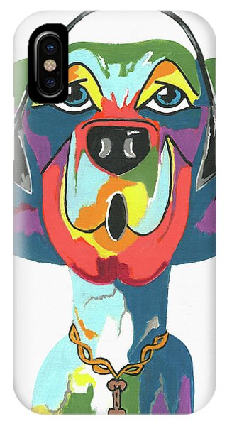 Rapping Rover - Funny  Dog IPhone Case