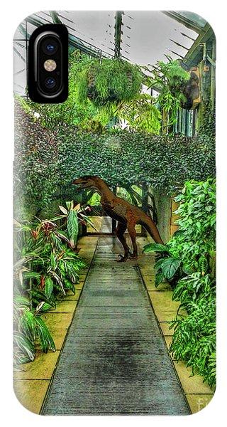 Raptor Seen In Kew Gardens IPhone Case