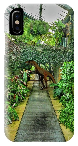 Raptor Seen In Kew Gardens IPhone Case