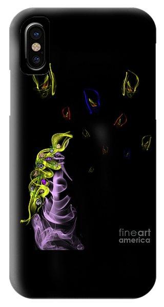 Rapunzel's Magic Flower Braid IPhone Case