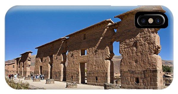 Raqchi Inca Ruins IPhone Case