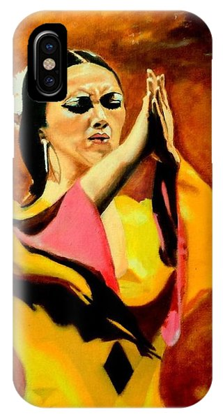 Raquel Heredia - Flamenco Dancer Sold IPhone Case