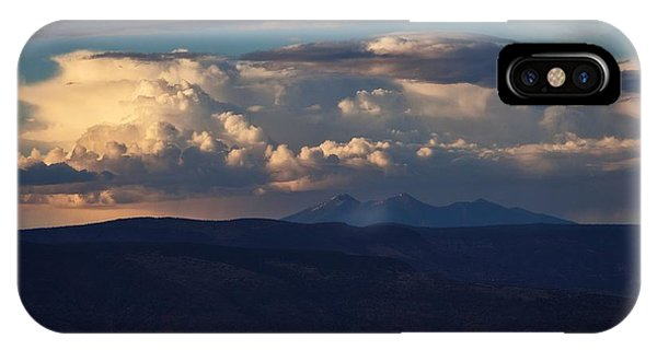 Rare June Storm Glow San Francisco Peaks IPhone Case