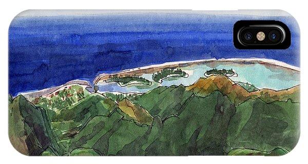 Rarotonga, View From Te Manga IPhone Case