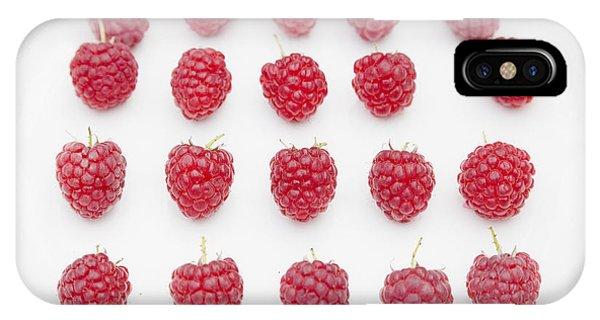 Raspberry IPhone Case
