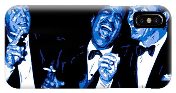 Hollywood iPhone Case - Rat Pack At Carnegie Hall by DB Artist