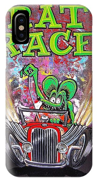 Rat Race IPhone Case