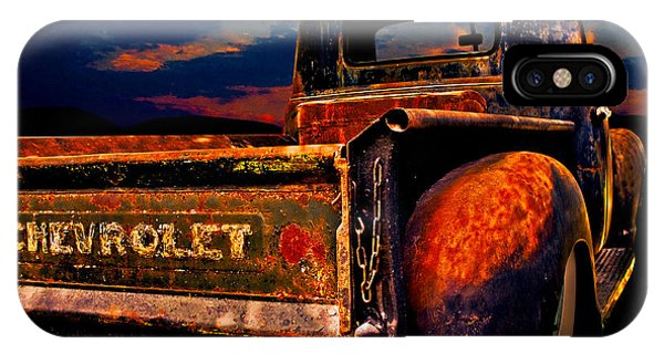 Rat Rod Chevy Truck IPhone Case