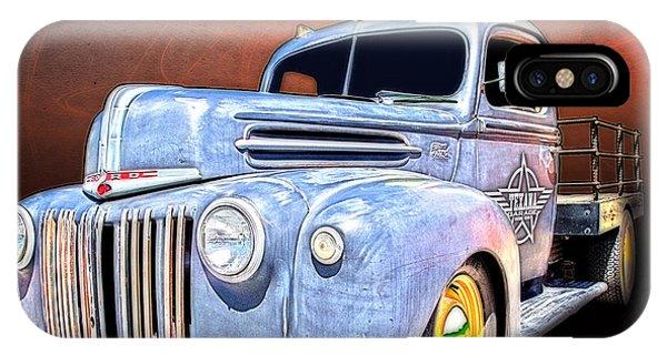 Rat Rod Flatbed Truck Texana IPhone Case