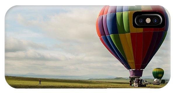 Raton Balloon Festival IPhone Case