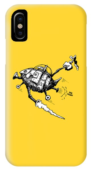 Rats In Space IPhone Case