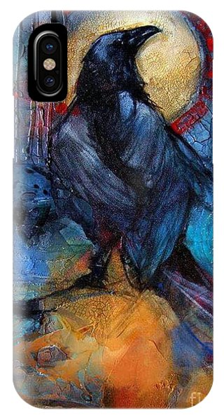 Raven Blue IPhone Case
