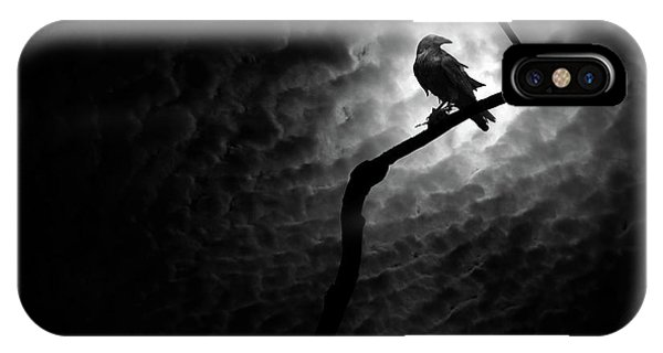 Raven, Death Valley IPhone Case