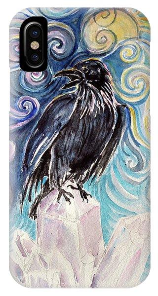 Raven Magic IPhone Case
