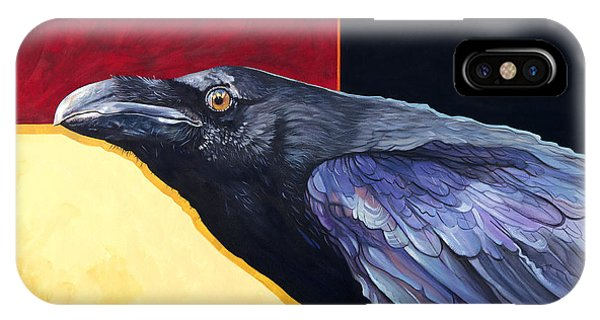 Raven Of The Tomorrow Wings IPhone Case