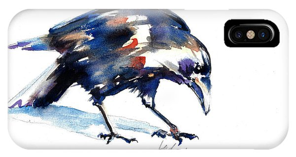 Raven Shadow From Vancouver IPhone Case