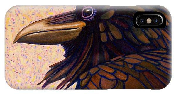 Raven Shaman IPhone Case