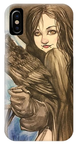 Raven Witch IPhone Case