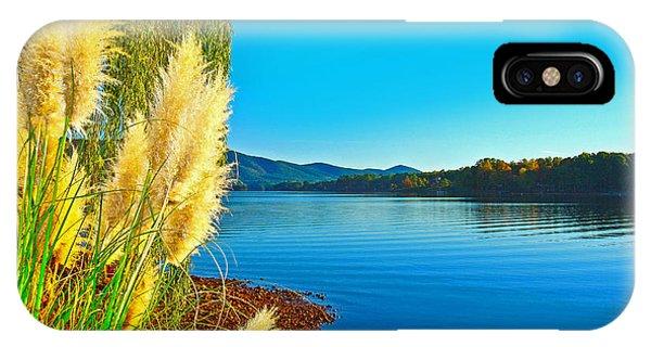 Ravenna Grass Smith Mountain Lake IPhone Case
