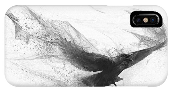Raven's Flight IPhone Case