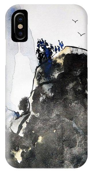 Raven's Mountain IPhone Case