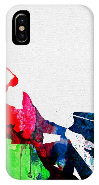 Charles iPhone Case - Ray Watercolor by Naxart Studio
