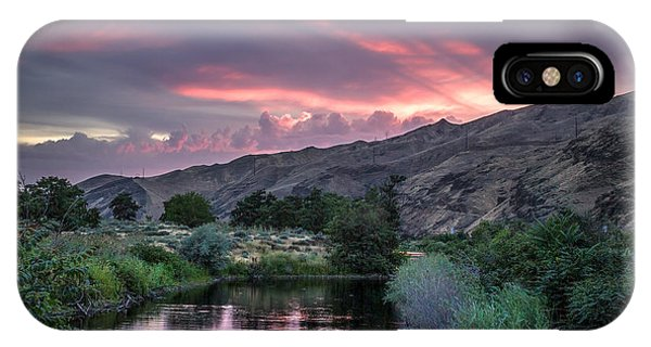 Rays Of Sunset IPhone Case