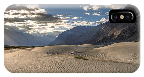 Rays On Dunes IPhone Case