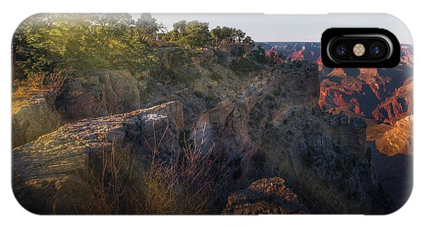 Rays Over The Canyon  IPhone Case
