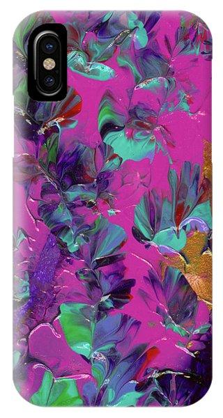 Razberry Ocean Of Butterflies IPhone Case