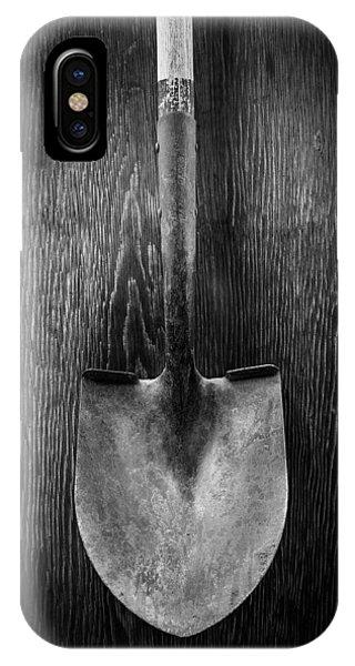 Farm Tool iPhone Case - Razorback Shovel by YoPedro