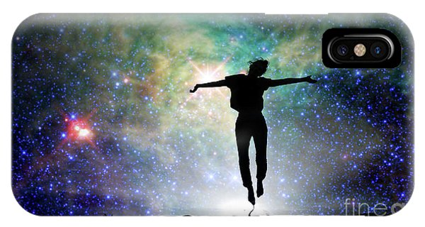 Well Being iPhone Case - Reach For The Stars by Delphimages Photo Creations